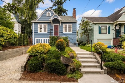 Seattle Single Family Home For Sale: 7330 9th Ave NW
