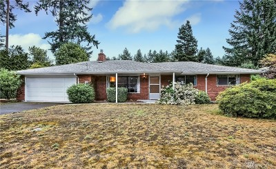 Lakewood Single Family Home For Sale: 10209 87th Ave SW