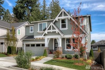 Redmond Single Family Home For Sale: 11620 173rd (Lot 6) Place NE