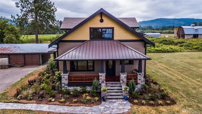 Bellingham Single Family Home For Sale: 2681 Kelly Rd