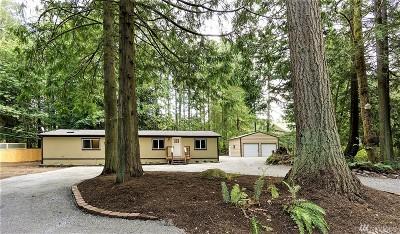 Marysville Single Family Home For Sale: 14523 S Lake Crabapple Rd