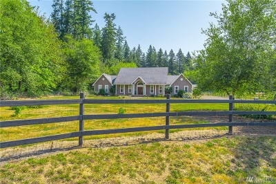 Lewis County Single Family Home For Sale: 224 Salkum Heights Dr