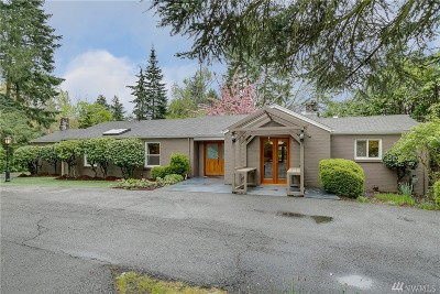 Renton Single Family Home For Sale: 16605 Benson Rd S