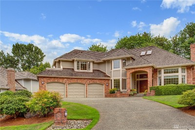 Issaquah Single Family Home For Sale: 4216 185th Place SE