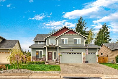 Bonney Lake Single Family Home For Sale: 7613 211th Ave E