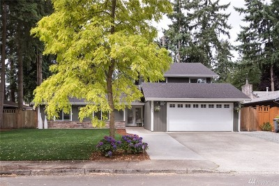 Bellevue Single Family Home For Sale: 1411 166th Place NE