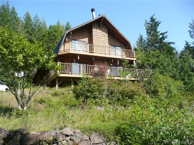 Brinnon Single Family Home For Sale: 307594 Hwy 101