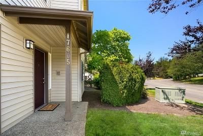 Renton Condo/Townhouse For Sale: 17605 134th Lane SE #17605