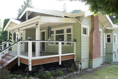 Bellingham Single Family Home For Sale: 1621 Electric Ave