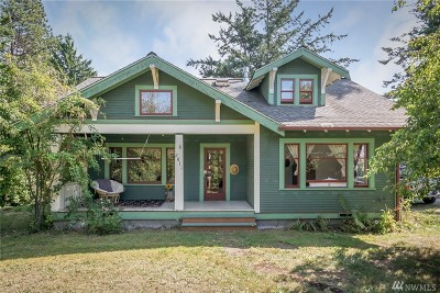 Whatcom County Single Family Home Pending: 2811 Cottonwood Ave
