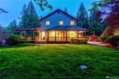 Woodinville Single Family Home For Sale: 24520 NE 196th St