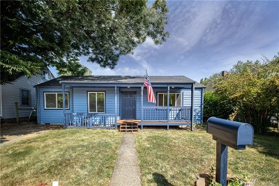 Olympia Single Family Home For Sale: 906 Boulevard Rd SE
