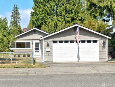 Mountlake Terrace Single Family Home For Sale: 5105 217th St SW