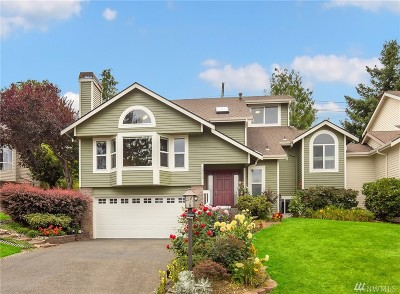 Woodinville Single Family Home For Sale: 14719 134th Ct NE