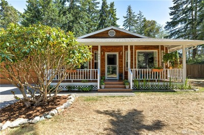 Coupeville Single Family Home Pending Inspection: 844 Shangri-La Cir