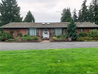 Spanaway Single Family Home For Sale: 18006 B St E