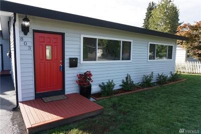 Renton Single Family Home For Sale: 803 Dayton Ave NE