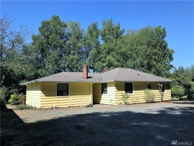 Grays Harbor County Single Family Home Pending: 3189 Wishkah Rd