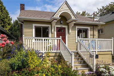 Seattle Single Family Home For Sale: 144 NW 79th St