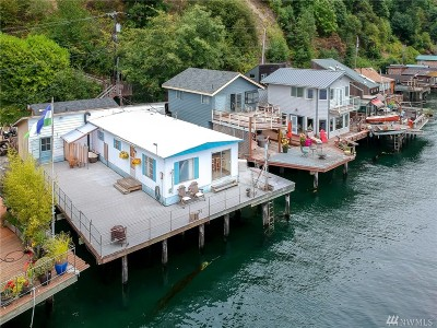Tacoma Single Family Home For Sale: 34 N Salmon Beach