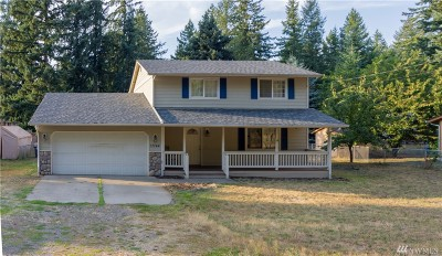 Yelm Single Family Home Pending Inspection: 17744 153rd Ave SE