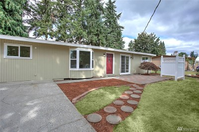 Kent Single Family Home For Sale: 27527 120th Ave SE