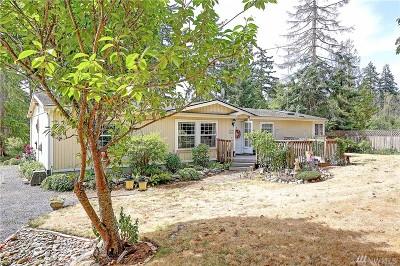 Camano Island Single Family Home Contingent: 114 E Dry Lake Rd