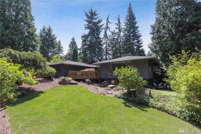 Woodinville Single Family Home For Sale: 17417 145th Place NE