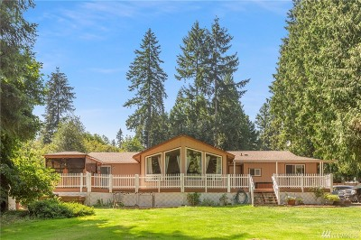 Snohomish Single Family Home For Sale: 18125 Waverly Dr