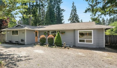 Snohomish Single Family Home For Sale: 9624 Woods Place