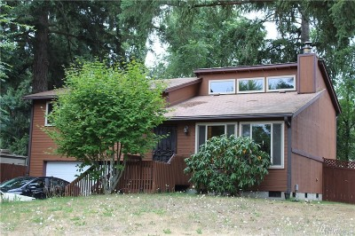 Spanaway Single Family Home For Sale: 917 186th St Ct E