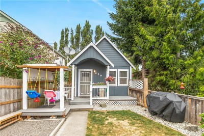 Whatcom County Single Family Home Pending Inspection: 429 Donovan Ave
