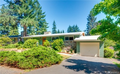 Edmonds Single Family Home Contingent: 17117 68th Ave W