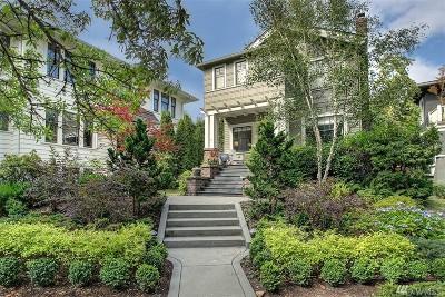 Seattle Single Family Home For Sale: 2416 Warren Ave N
