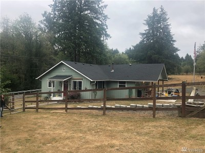 Lewis County Single Family Home Pending Inspection: 820 Coal Creek