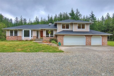 Enumclaw Single Family Home For Sale: 34888 336th Ave SE