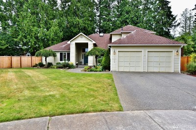 Silverdale Single Family Home For Sale: 12435 Mt. Worthington Lp NW