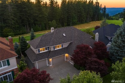 North Bend, Snoqualmie Single Family Home Contingent: 6609 Cascade Ave SE