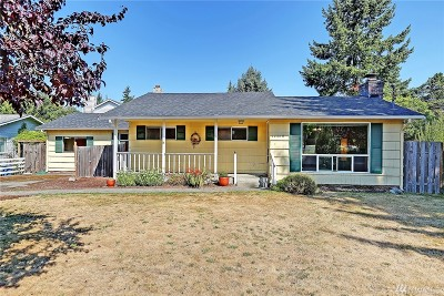 Burien Single Family Home For Sale: 14440 14th Ave SW