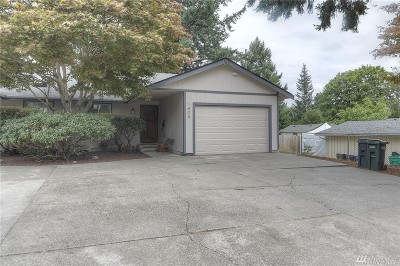 Olympia Single Family Home For Sale: 1608 Scammell Ave NW