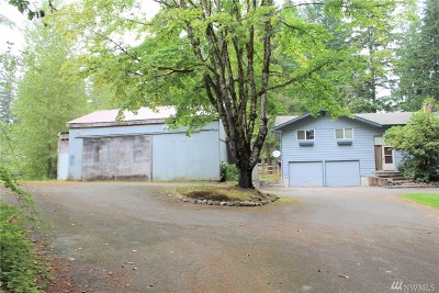 Snohomish Single Family Home For Sale: 20305 6th St NE