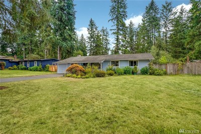Woodinville Single Family Home For Sale: 19745 NE 156th Place