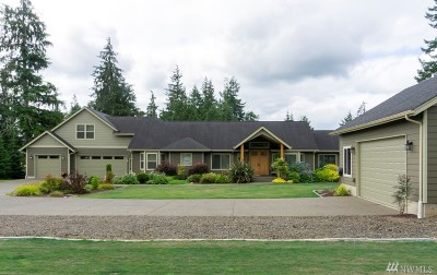 Grays Harbor County Single Family Home For Sale: 6597 River Rd