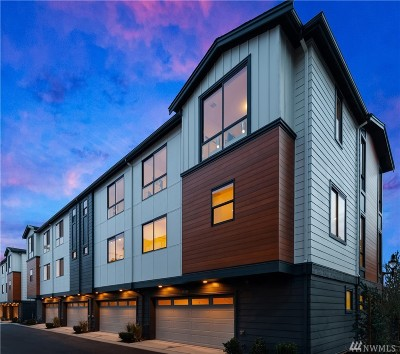Bothell Condo/Townhouse For Sale: 18320 96th Lane NE #C
