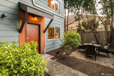 Seattle Single Family Home For Sale: 709 NW Market St
