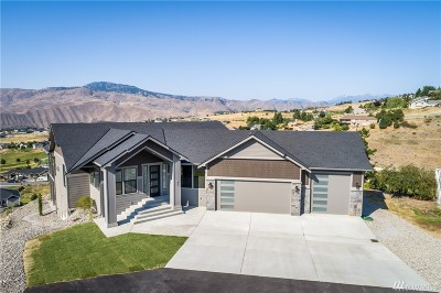 Wenatchee Single Family Home For Sale: 61 Avalon Terr