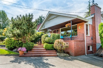 Everett Single Family Home For Sale: 3310 Federal Ave