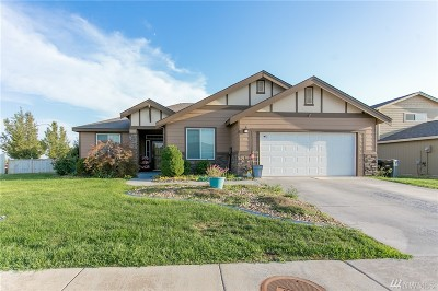 Moses Lake Single Family Home For Sale: 1301 W Century St