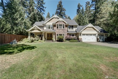 Pierce County Single Family Home For Sale: 9321 158th St Ct NW