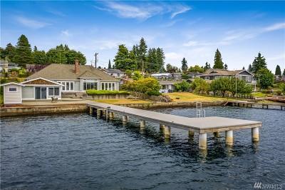 Lake Stevens Single Family Home For Sale: 1206 E Lakeshore Drive